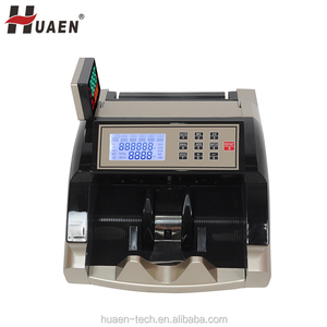 Multi currency Indian UV MG IR MT fake note detection cash money counting machine bill Counters