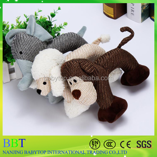 new design <strong>pet</strong> toys plush tough squeaky rope dog toy