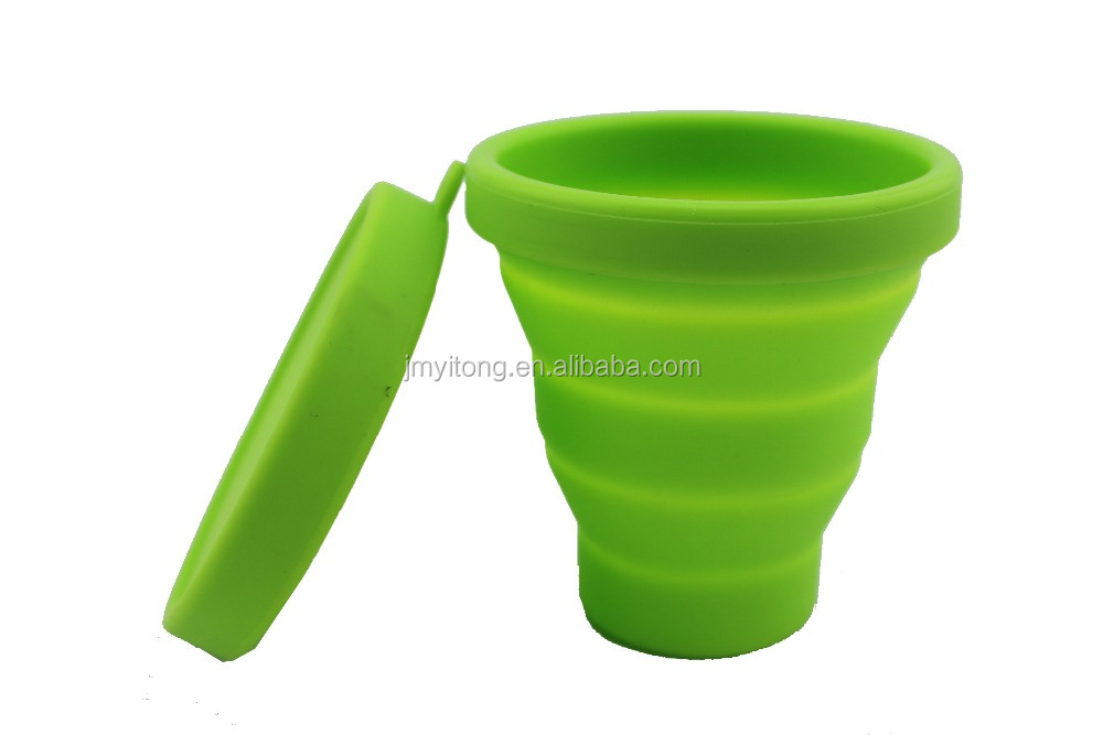 2013 pop collapsible silicone cup