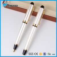 Elegant and beautiful metal gift pen set for lady fashion premium metal roller pen for office lady