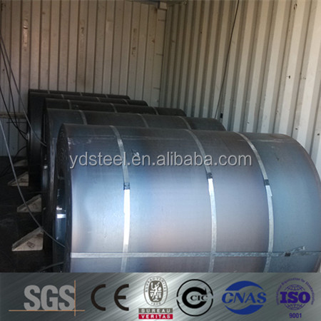 prime hot rolled pickled and oiled steel coil from China manufacture