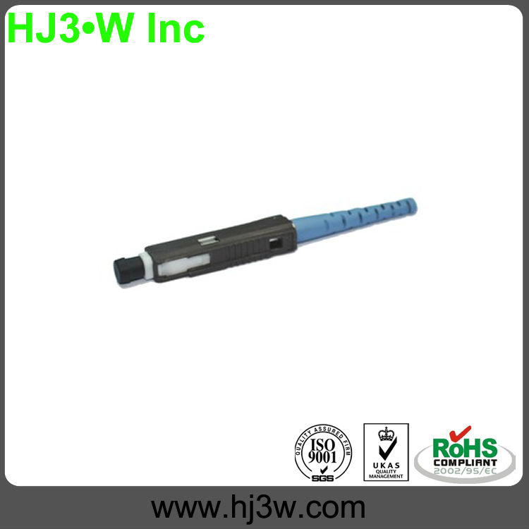 Manufacture MU SM 3.0mm Fiber Optic Connector for telecommunication