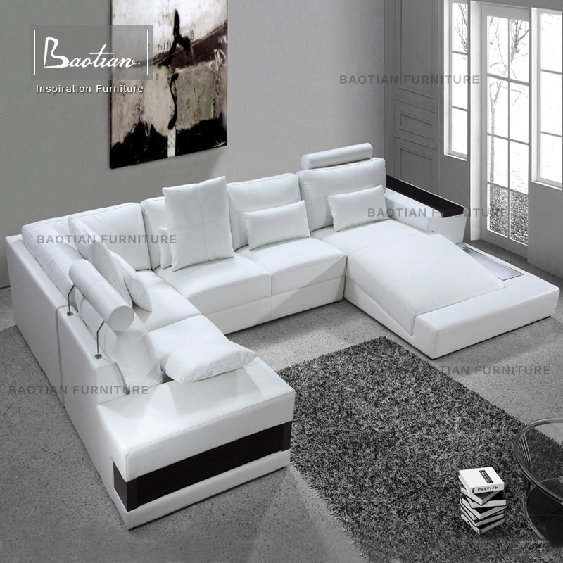 U Shaped Leather Sofa Thesofa TheSofa