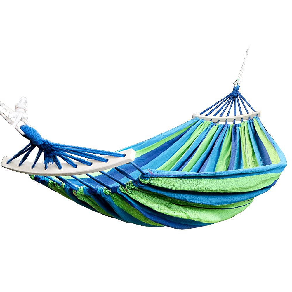 get quotations    rusee double 2 person cotton fabric canvas travel hammocks 450lbs ultralight camping hammock portable beach swing cheap hammock spreader find hammock spreader deals on line at      rh   guide alibaba