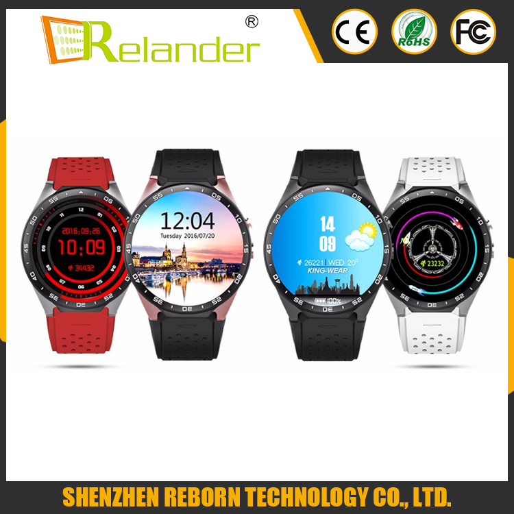 2016 New Android 5.1 GPS Smart Watch KW88 512M ROM 4G RAM Smartwatch Support 3G WIFI Google