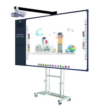 l 39 cole smart classroom multim dia tout en un cran tactile interactif tableau blanc avec. Black Bedroom Furniture Sets. Home Design Ideas