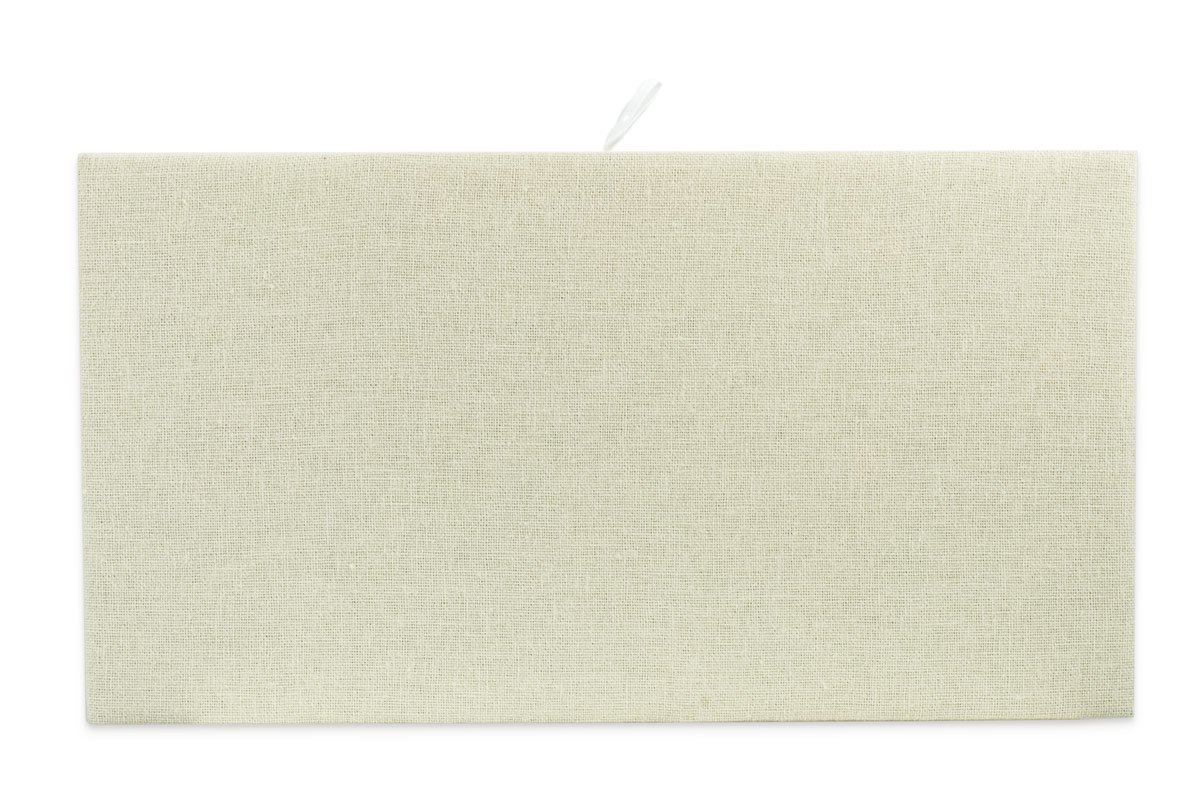 Cream Colored Linen Jewelry Display Pad for Standard Size Trays