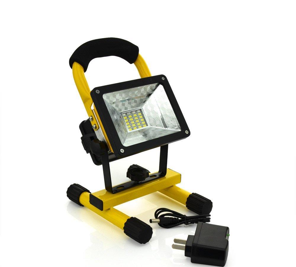 120 Led Cordless Work Light Home Garage Emergency Portable: Portable IP65 24LED 30W Flood Light Waterproof Spotlights