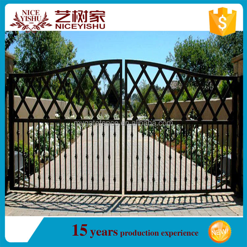 2016 newest iron gate designs/house gate grill designs/house gate designs pictures