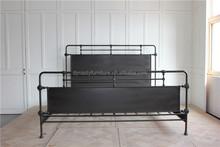 Letti In Ferro Vintage : Promozione black metal letto queen shopping online per black