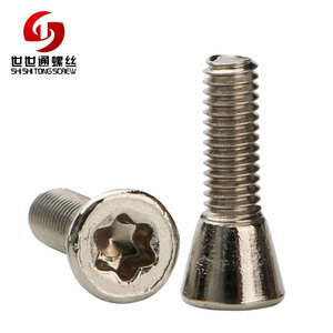 China Screw Factory Hardware Fastener Replaces Carbide Inserts CNC Lathe Tool CNC Insert T8 Torx T & TX Screws