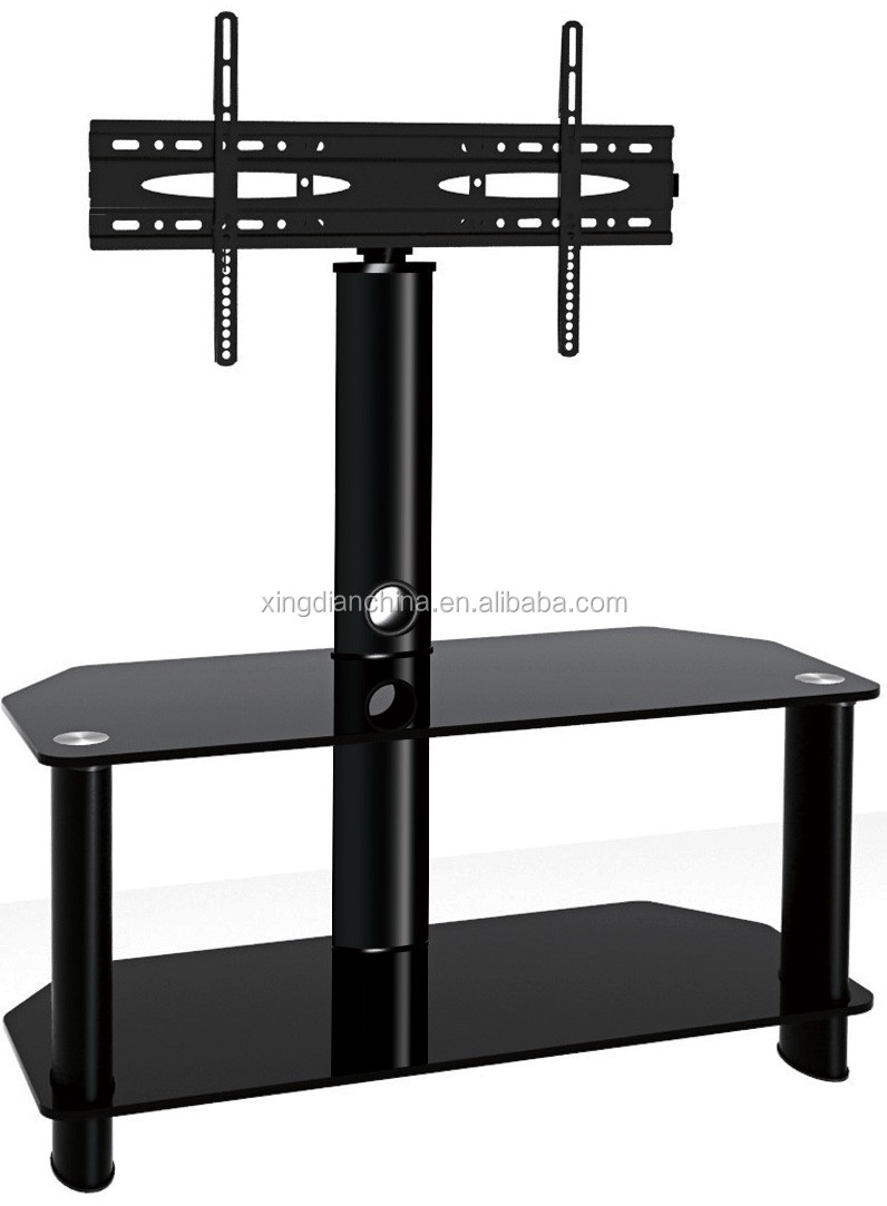 Conference Room Glass Swivel Lcd Plasma Tv Stand Buy Glass Tv
