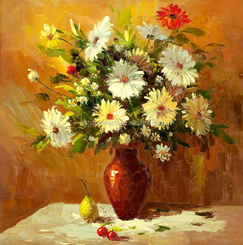 Floral Oil Paintings Flowers