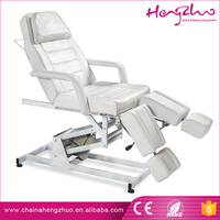 Professional beauty salon equipment furniture portable beauty salon facial bed with CE