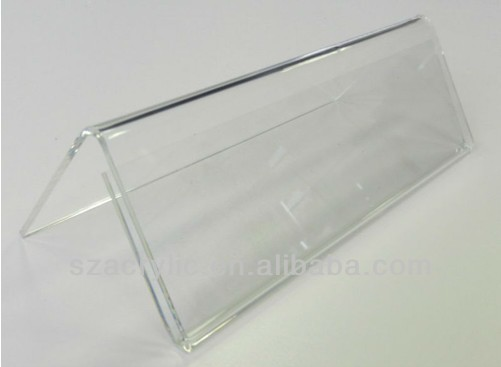 clear small plastic price tag sign holder wholesale