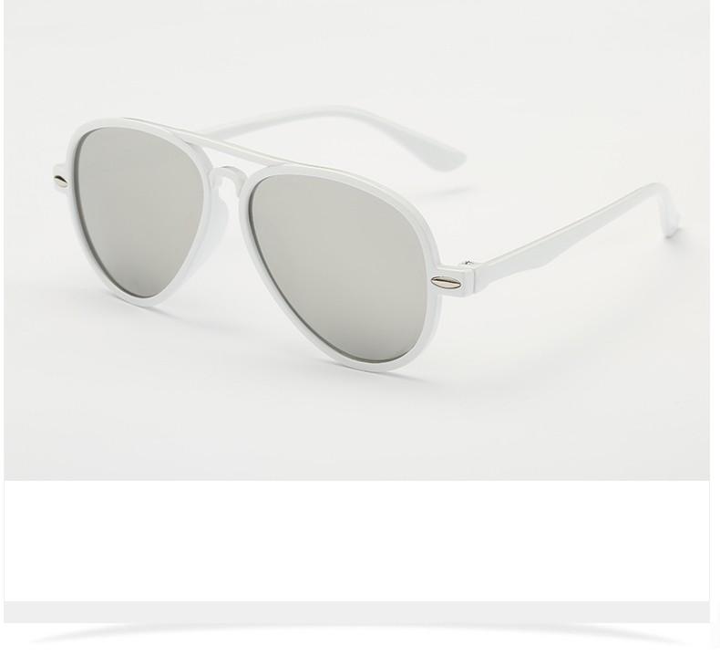 2016 New Arrival GANKER Crianças Da Marca Óculos de Sol Da Moda Colorida Anti-Reflective UV400 Óculos de Sol Marca Designer Eyewear Do Miúdo