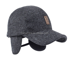 Ear protecting baseball hat manufacturer cap new style