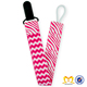 Newest Design 2 Sides Design Soother Holder Toddler Zebra Nipple Leash Strap Chain Clip Holder Universal Baby Best Pacifier Clip