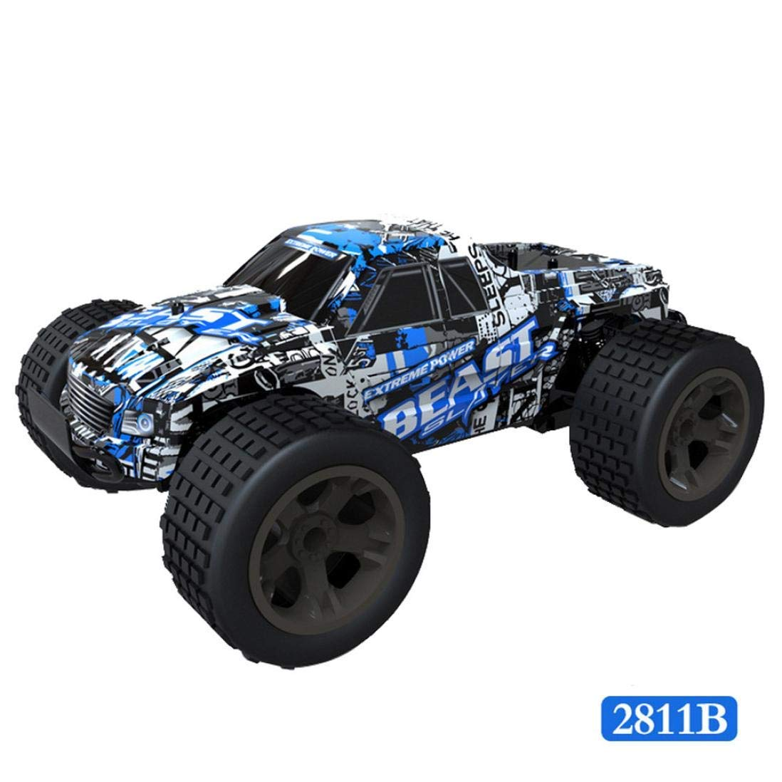 Yezijin Remote Control Car, 1:20 2WD High Speed RC Racing Car 4WD Remote Control Truck Off-Road Buggy Toys