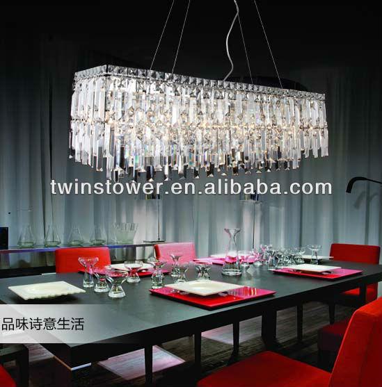 Sala Da Pranzo Moderno Lampadario Di Cristallo - Buy Product on ...