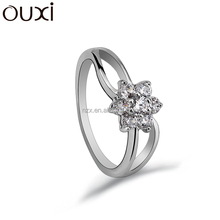 OUXI 2015 Fashion jewellery new products rings jewellery 40131