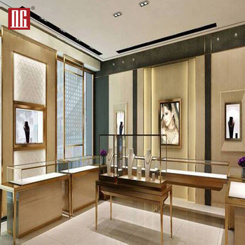 Modern Jewelry Display Case Jewel Display Cabinet For Jewelry Shop