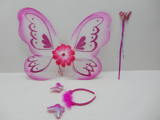 fairy wing for girls playing set,party toys TA14010043