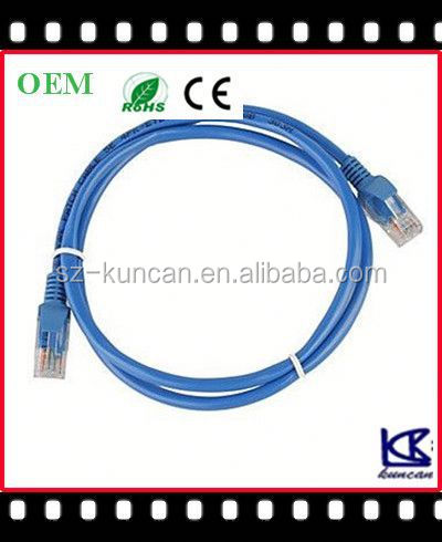 cat5e patch cord+rj45 connector+twisted paired