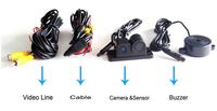 Car Parking Sensor And Car Reverse Camera Together 2 In 1 Car ...