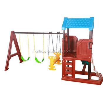 Amut Playground Children Kids Toddlers Engineering Plastics Outdoor Swing And Slide