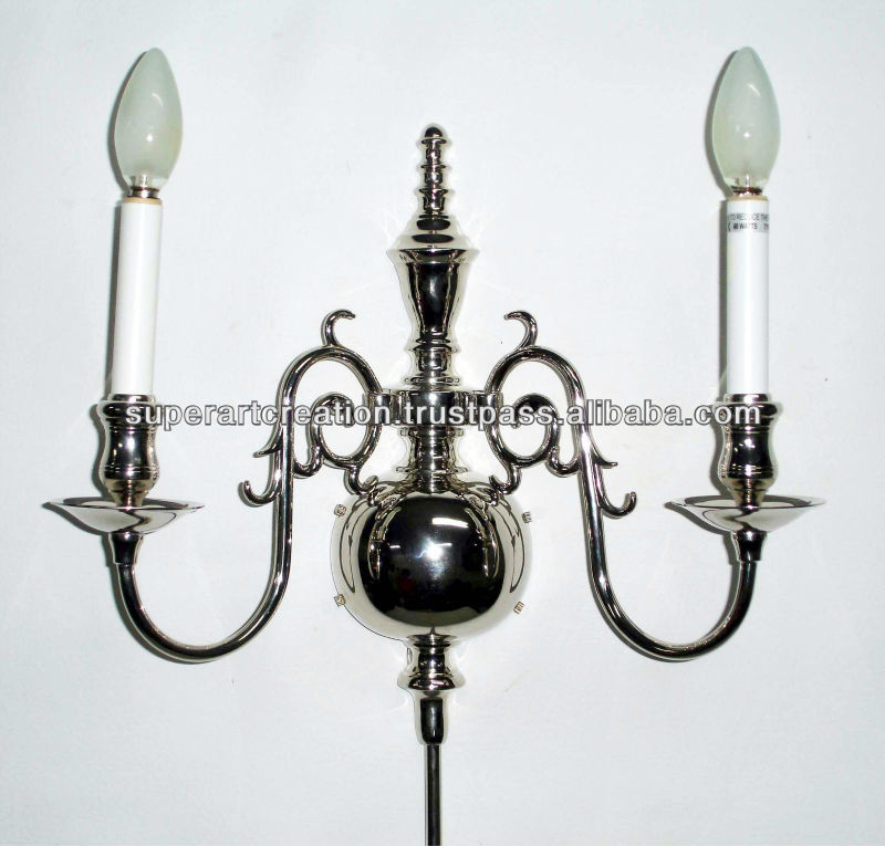 Traditional Metal Wall Sconce