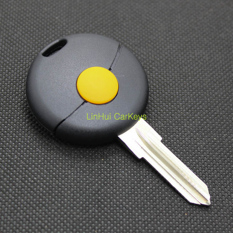 1 Button Blank Key Shell for Mercedes Benz Smart Remote Key Fortwo Forfour