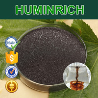 Huminrich Full Crop Species Used Potassium Oxide Fertilizer Potassium Humate Black Shiny Flaky Powder