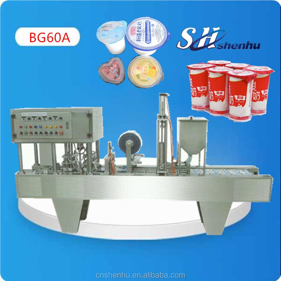 shanghai factory cup forming filling sealing machine with CE/SGS popular type