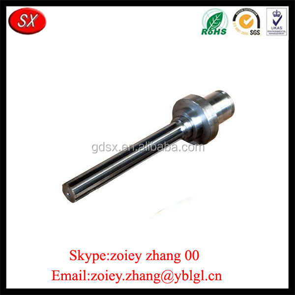 Chinese Precision CNC Machine Steel Mechanical Shaft For Transmission Polishing Surface