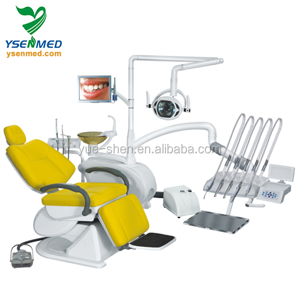 YSDEN-970 Luxury dental unit multi-founctional dental chair for sale China best dental instruments dental chair unit