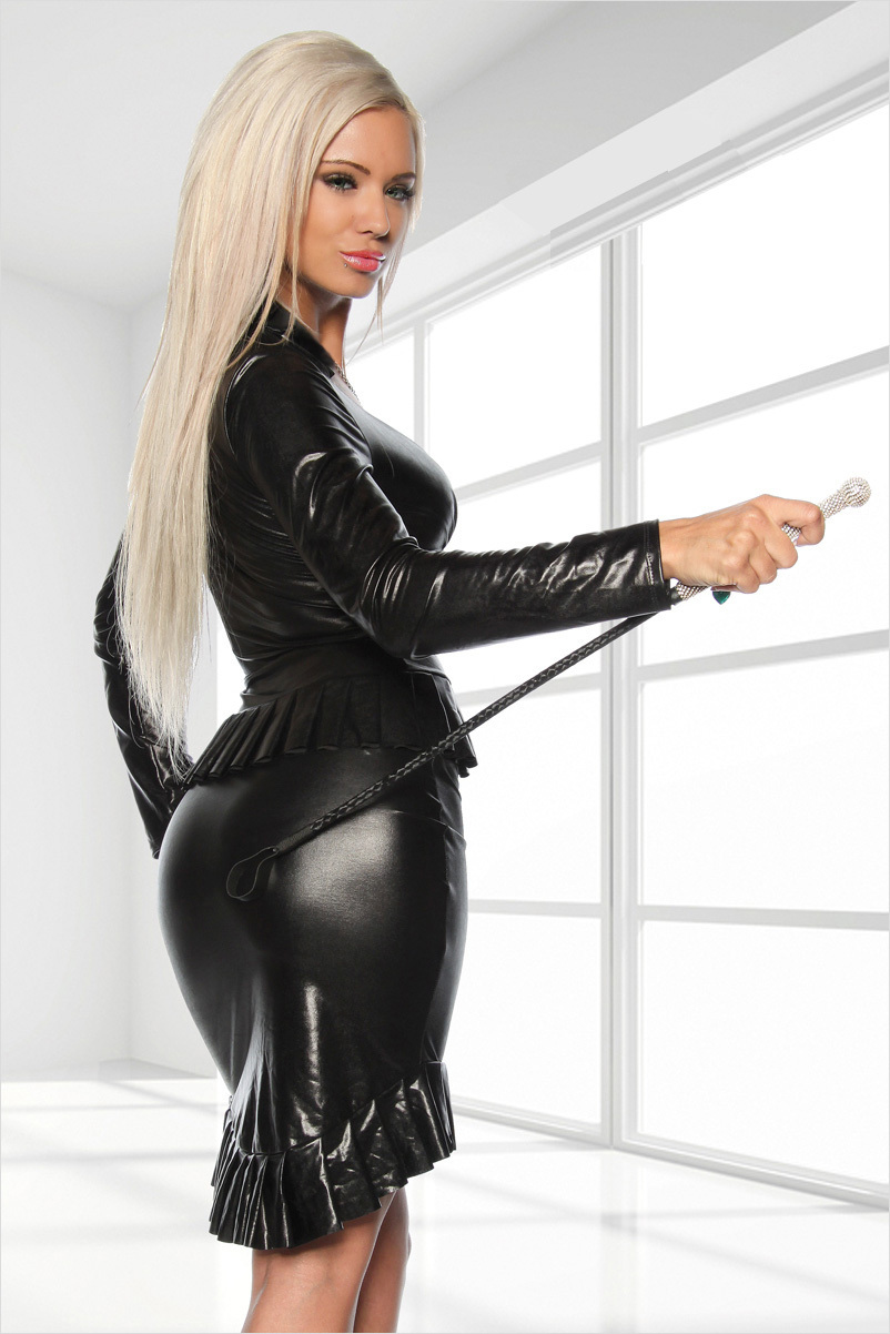 With sexy leather outfit sex opinion you