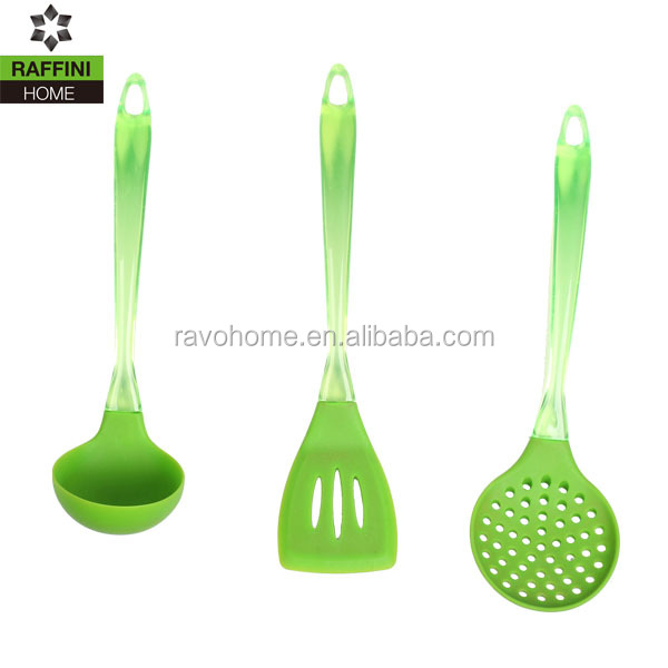 China Wholesale Cooking Utensil Silicone Utensil Set