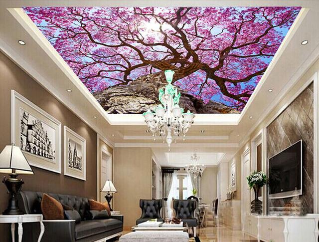 Fondo De Pantalla Personalizado Textil, árbol De Cerezo