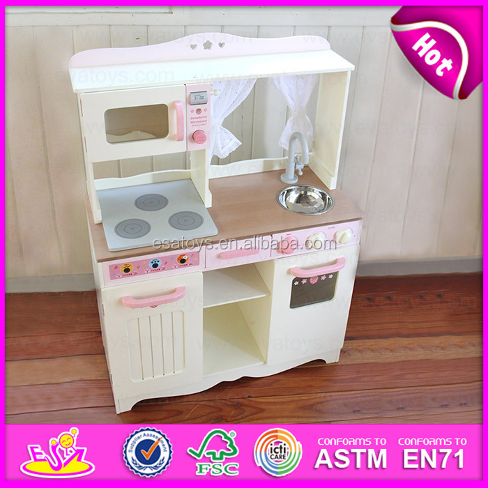 Hot new product for 2015 happy kitchen set toy big kitchen for Cheap childrens kitchen sets