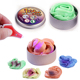 Factory Wholesale 50 Gram UV Torch Color Changing Bouncing Silly Crazy Magic Thinking Putty For Fun