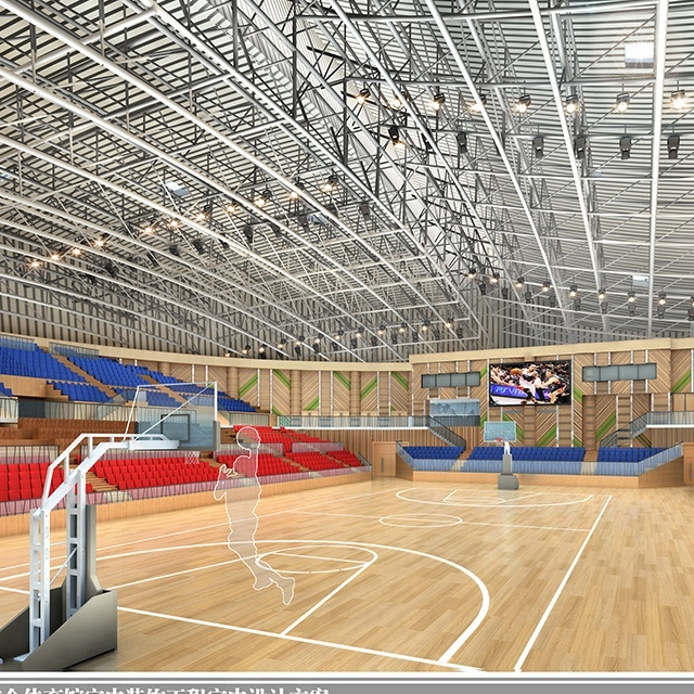 Light Gauge Prefabricated Indoor Stadium With Steel