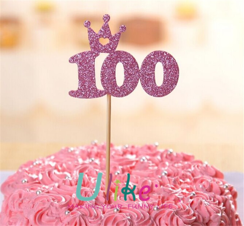 Bling Number Wedding Cake Topper For Anniversary Party Decoration Wholesale