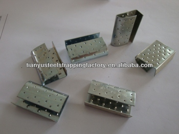 CLIPS FOR STEEL STRAPPING .PET STRAPPING.