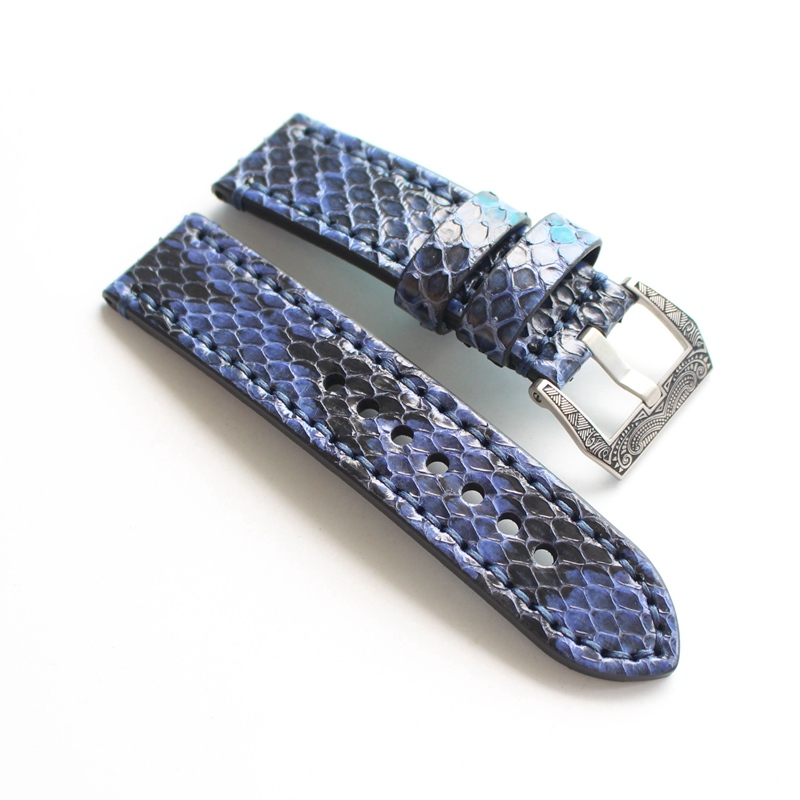 Genuine Python Leather Men/Women Watch Strap