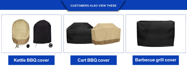 Zware BBQ Gas Grill Covers outdoor waterdichte furniture covers bbq grill cover