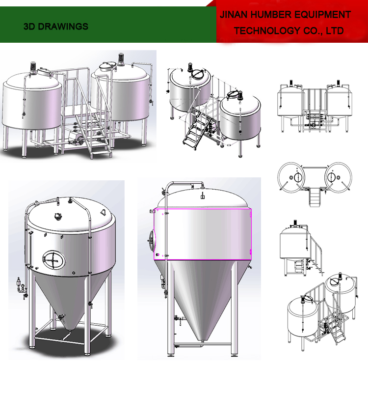 Mini brewery machine beer making equipment for sale