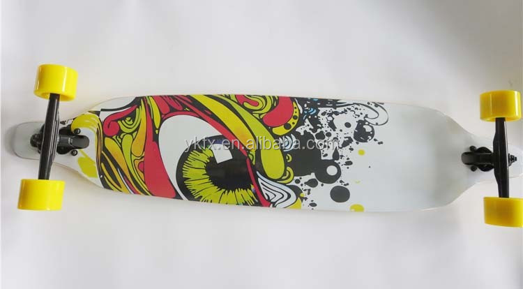 "popular professional Long Skate board Canadian maple 38"" (96.5cm) / 41""(104cm) ABEC-11Longboard Komplett"