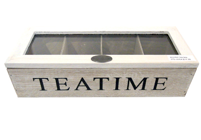 Wooden Cube Square Box Tea Box Storage Box With Glass Lid