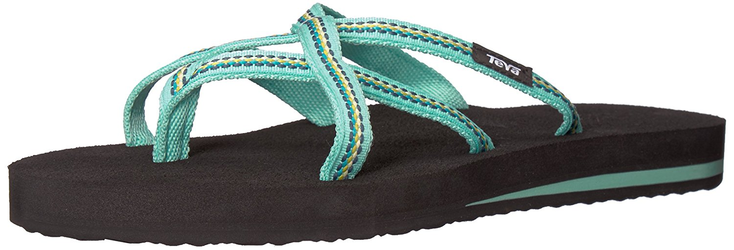 5220f2c3bfe2 Buy Teva Olowahu flip flops Ladies brown flip flops in Cheap Price ...